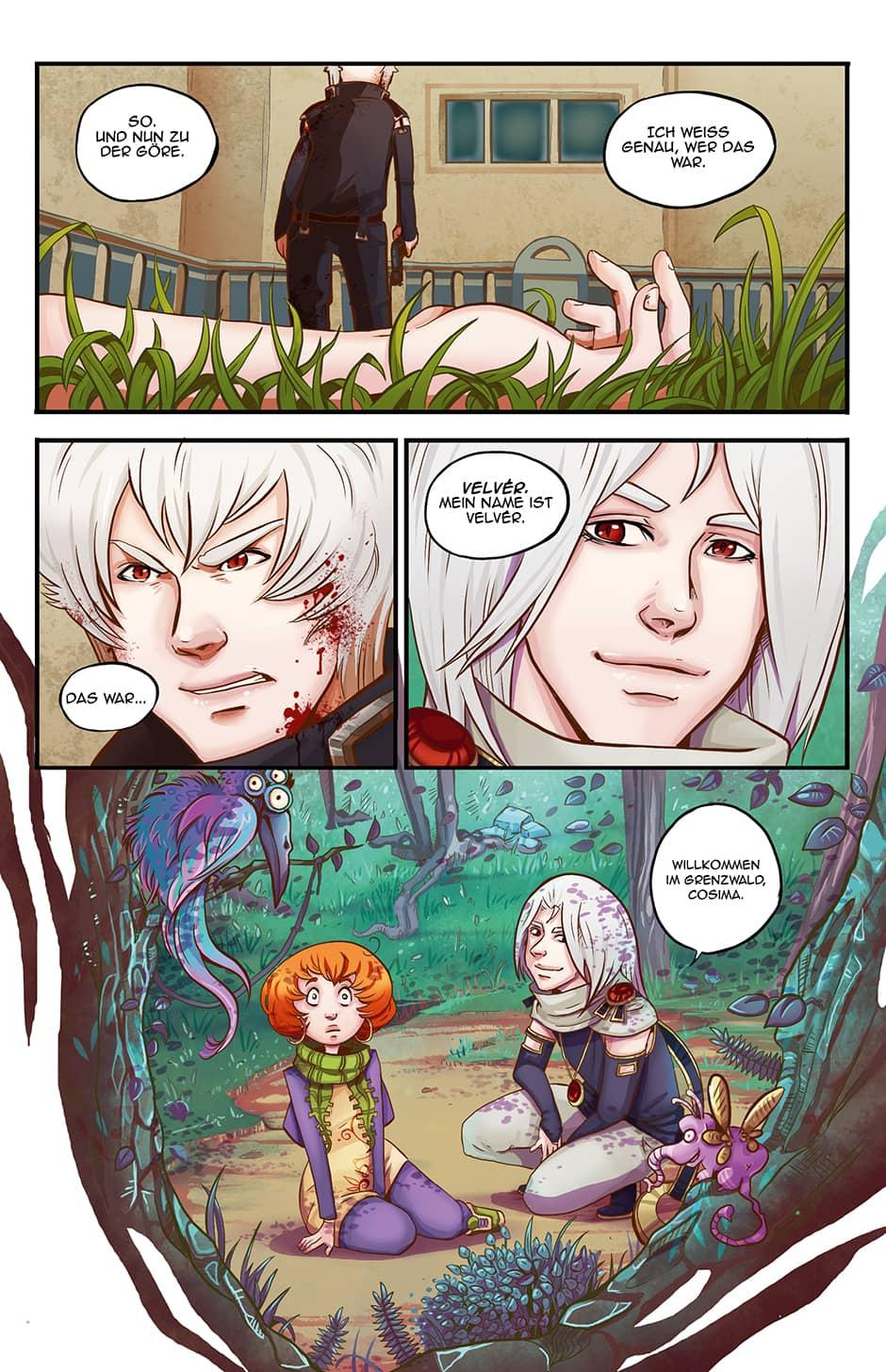 Vom AnfangWebcomic Seite 50