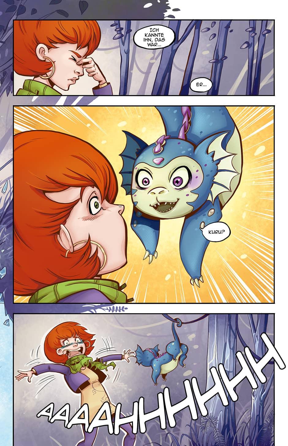 Webcomic Seite 3