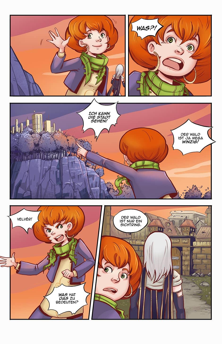 Webcomic Fantasy Seite 7