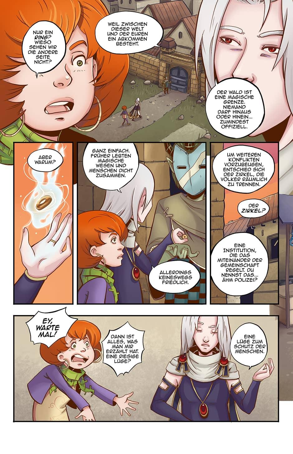 Webcomic Fantasy Seite 8
