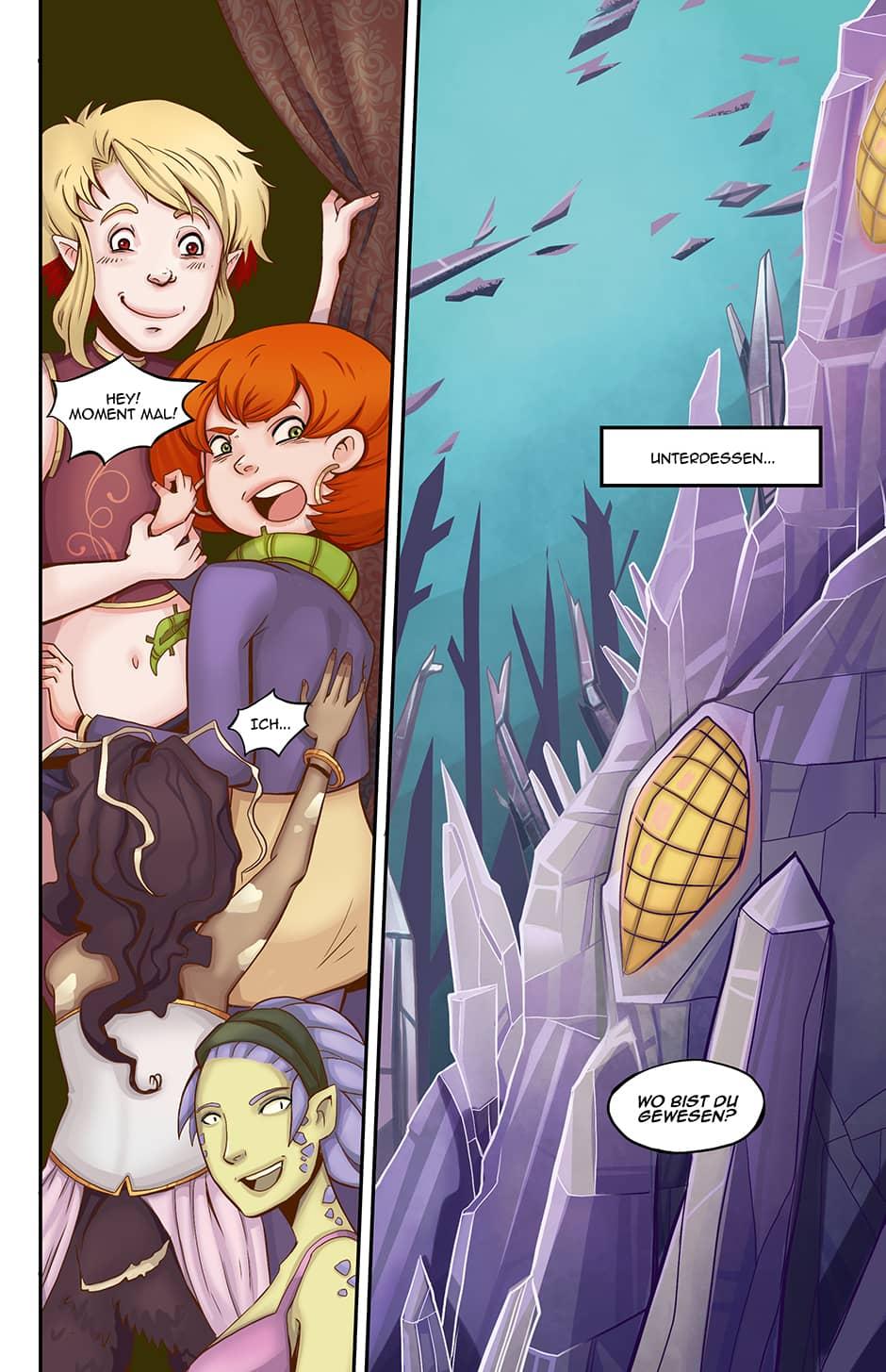 Webcomic Szenenwechsel
