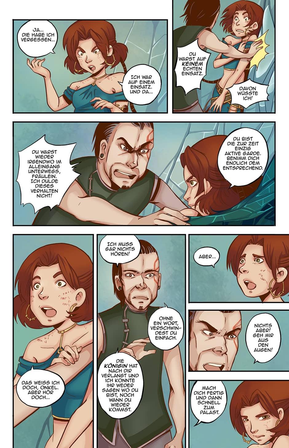 Webcomic Fantasy Seite 19