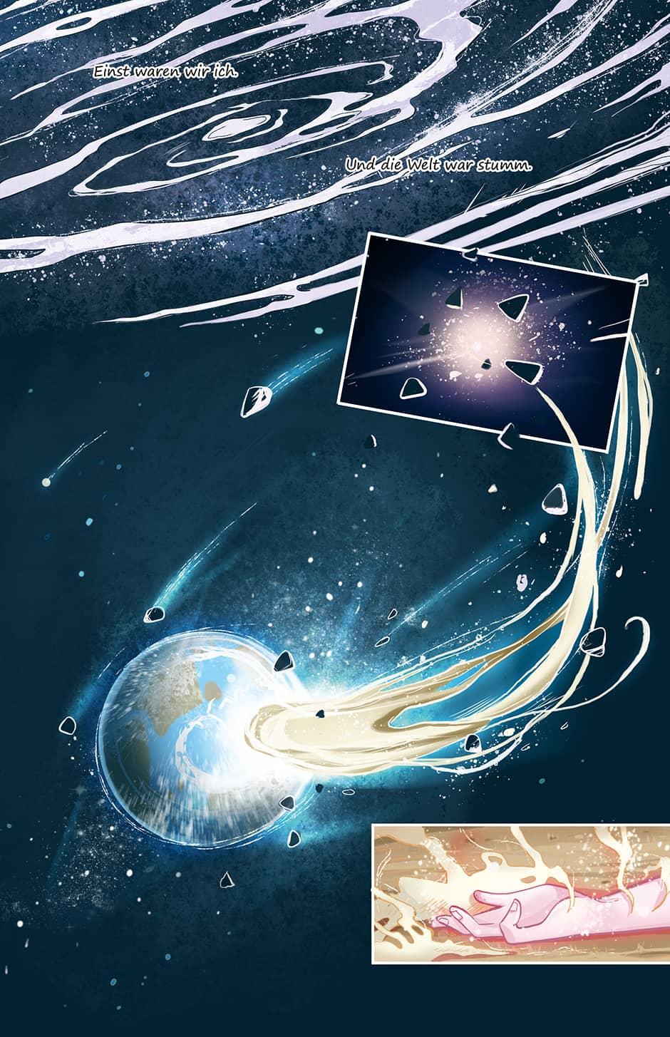 Webcomic Schicksal Seite 1
