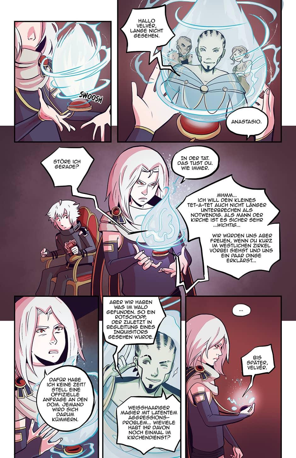 Webcomic Vom Anfang Schicksal 24