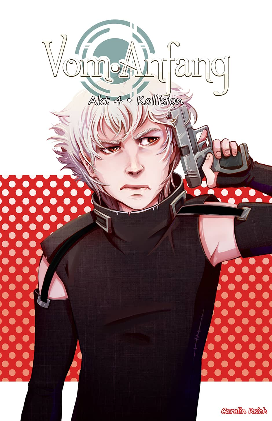 Cover Webcomic Vom Anfang Kollision